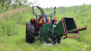 Drobilice za drvo na traktorski pogon